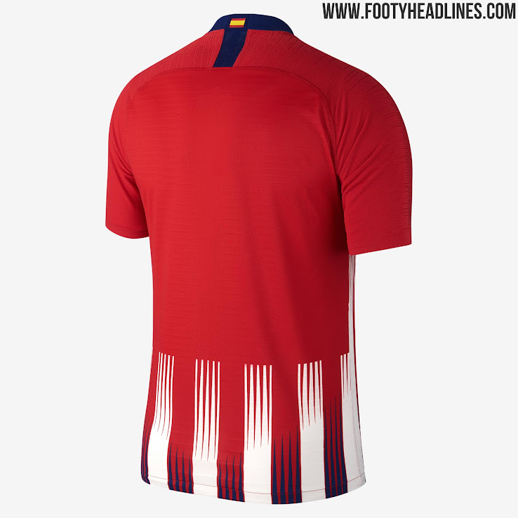 Atletico Madrid 18-19 Home Kit. This is the Atletico 2018-2019 home shirt. 3f8d533b9