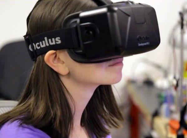 aparelhos de realidade virtual em alta