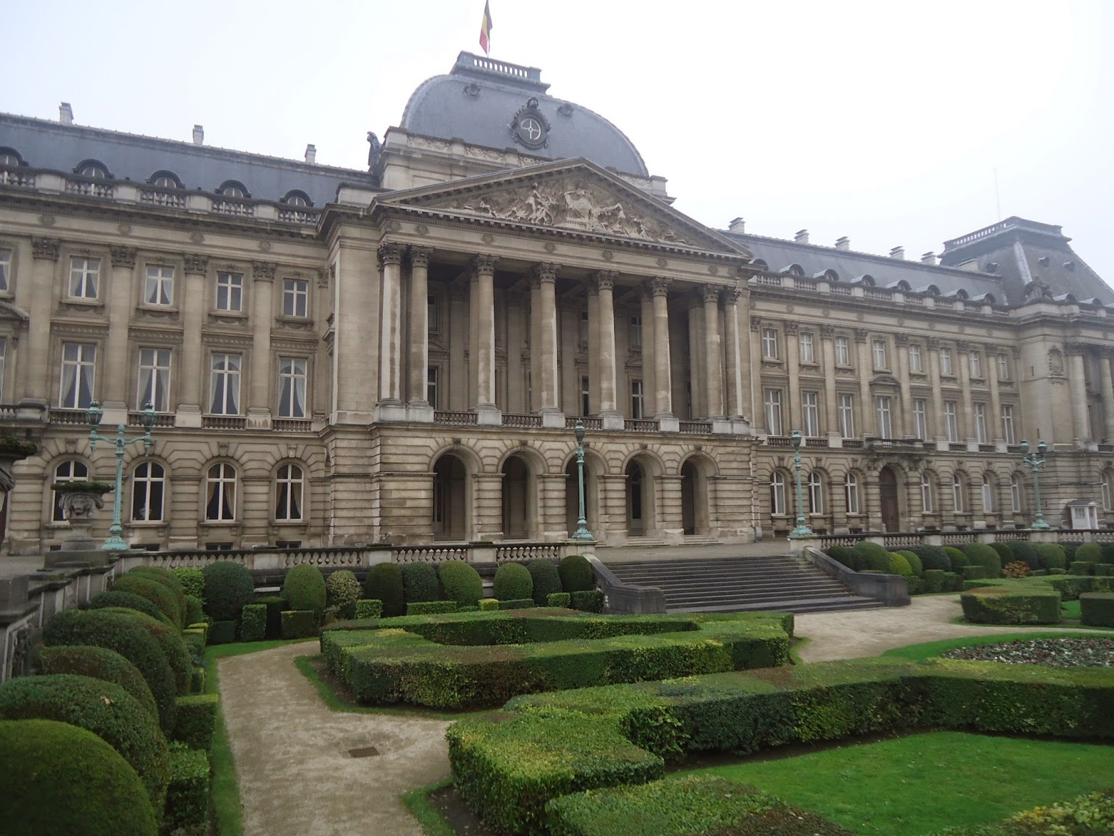 Travel Royal Palace in Brussels Belgium