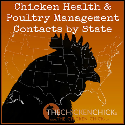 Chicken Health & Poultry Management Resources by State