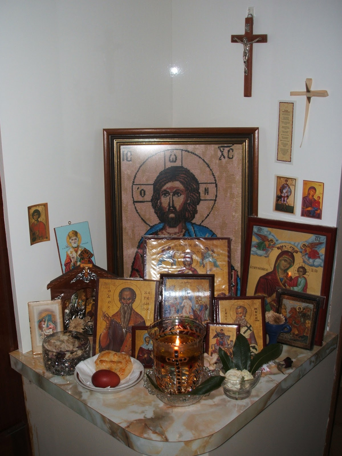 Living Orthodox Traditions Icon Corner