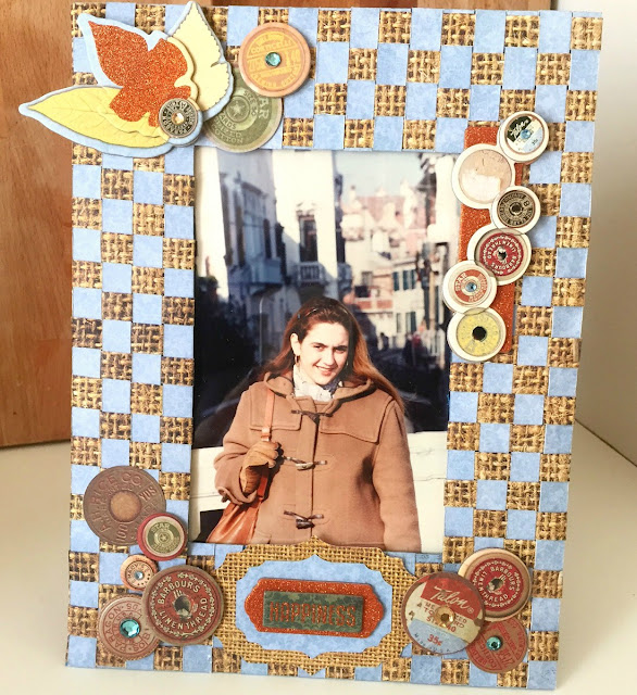 Fall Memories Frame by Ombretta Fusco using BoBunny Farmers Market and any Die