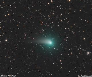 Arriva seconda cometa verde di primavera