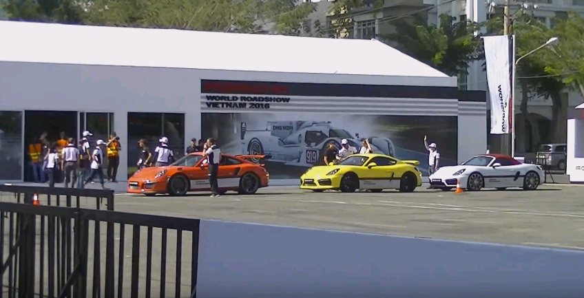 Porsche World Roadshow 2016 là một chương trình trải nghiệm xe đẳng cấp và uy tín