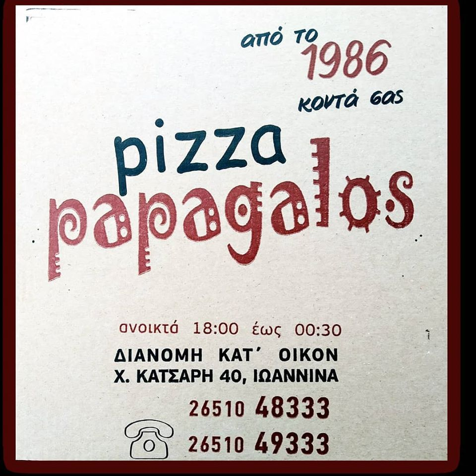 pizza papagalos