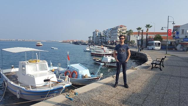 Balıkesir Ayvalık şehir merkezi