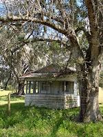 Casa de campo abandonada