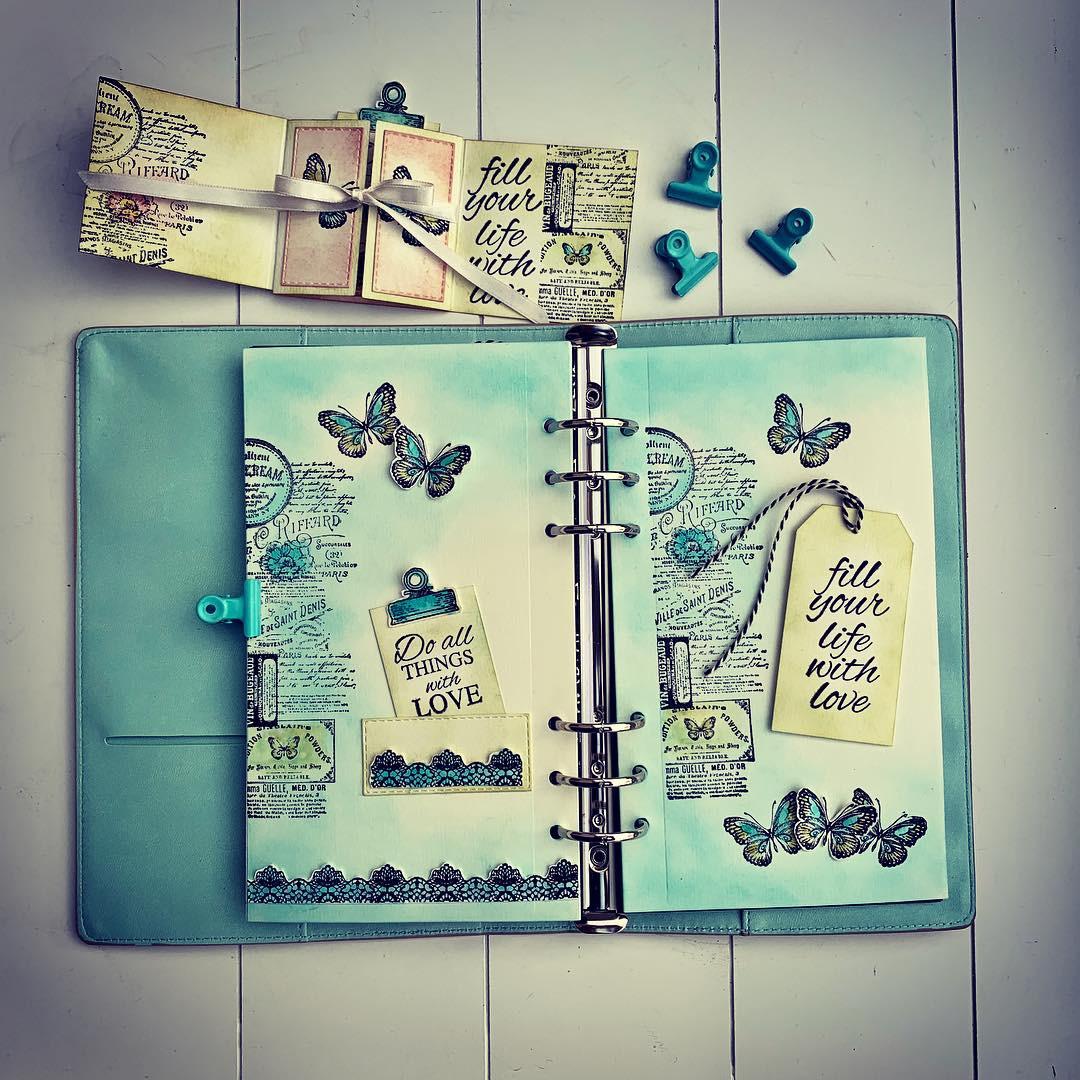Laura S Creative Moments Elizabeth Craft Design Planner