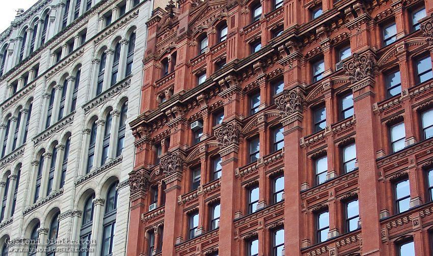 Ιστορικά κτίρια στο Park Row