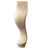 Queen Anne Style Cabriole Leg