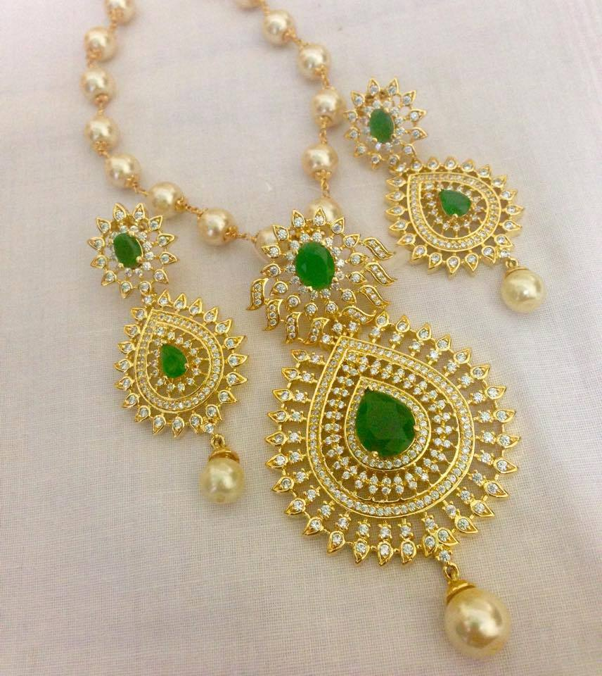 1 Gram Gold Earrings 1 Gram Gold Chandbalis South India ...