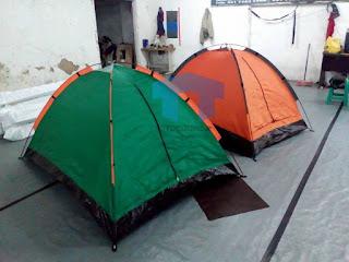 Toko, tempat menyediakan dan menjual tenda di dome