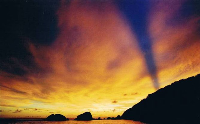 Sunset in the Similan Islands