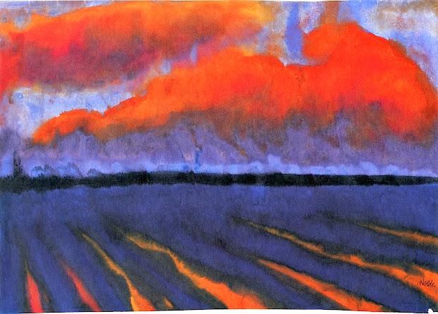 Emil Nolde Landscape Paintings