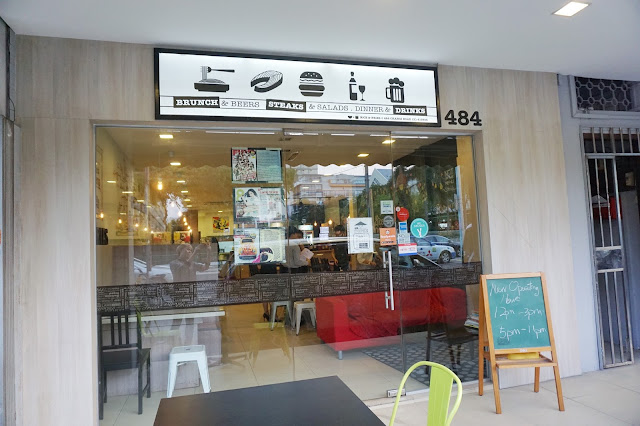 Singapore Cafe - Rice & Fries at Changi Road Exterior