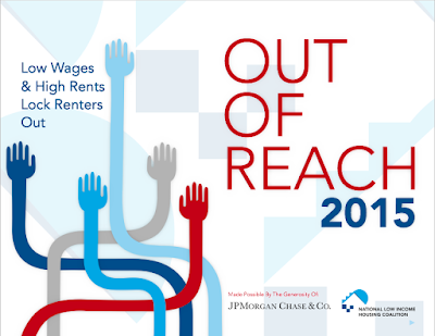 "Report Cover for ""Out of Reach 2015"""