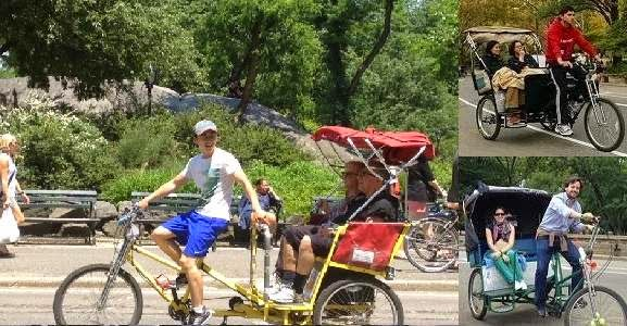 Central Park Pedicab Tours NYC