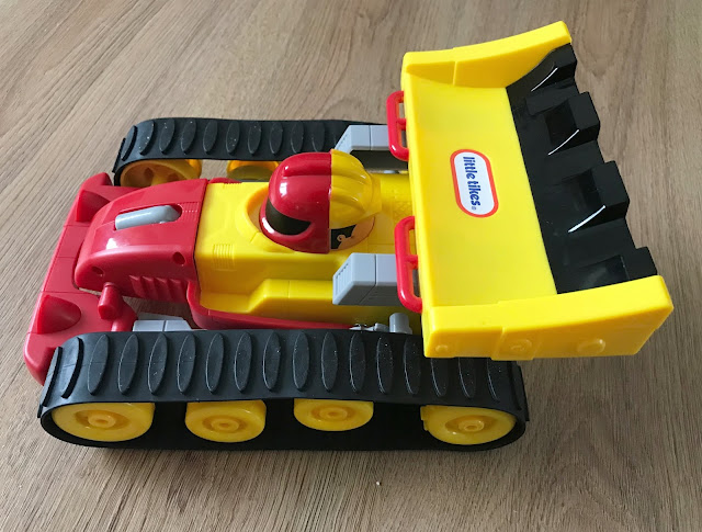 Dozer Racer in Racer mode