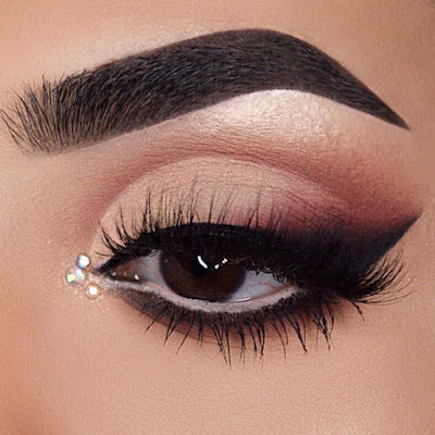 Wearing Black Eyeliner