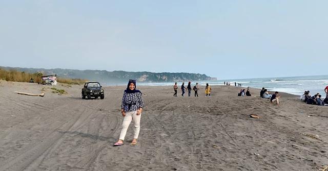 Tempat wisata jogja 2019 - Pantai cemara sewu Bantul DIY