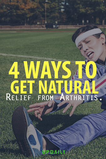 4 Ways to Get Natural Relief from Arthritis pinterest image