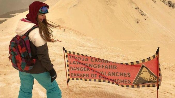 Πορτοκαλί χιόνι στην Ευρώπη λόγω αφρικανικής σκόνης