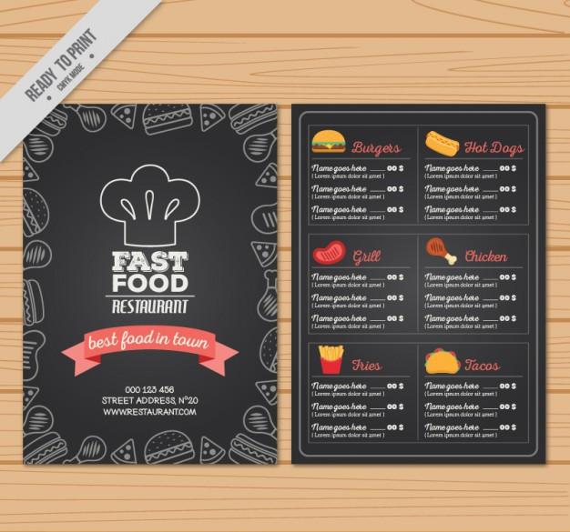 12+ Template dan Cover Menu Restoran For Photoshop ...