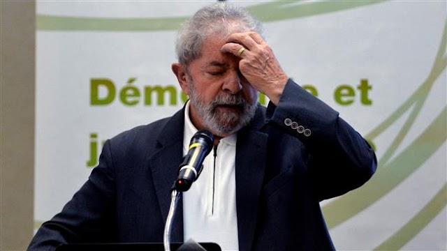 Hundreds rally in Brazil's Sao Paulo to urge imprisonment of ex-president Lula da Silva