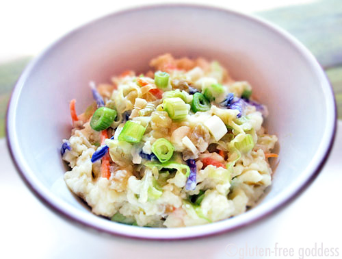 Karina's Kicked Up Colcannon recipe #glutenfree #potatoes