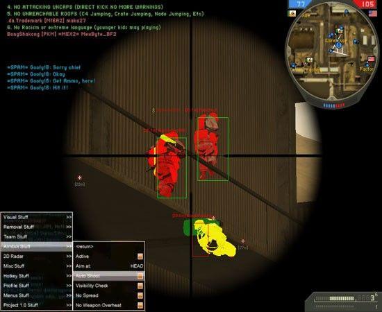 Battlefield 2 Cheats Scripts