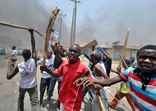 Tension In Jos, Hausa & Igbo Youths Clash