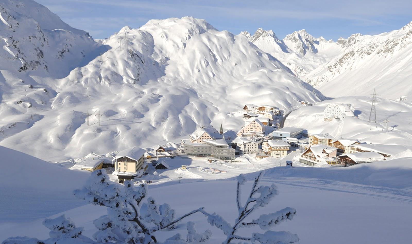 St. Anton am Arlberg Tirolo Austria