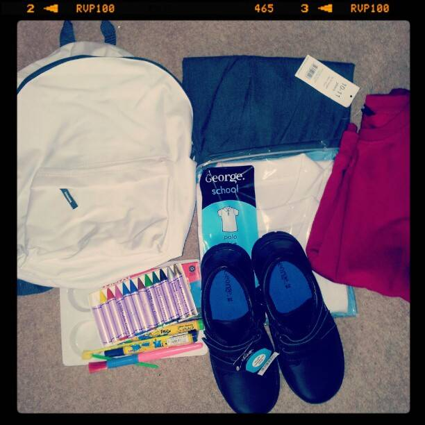 George/ASDA's Back To School 'Little Designers' Challenge