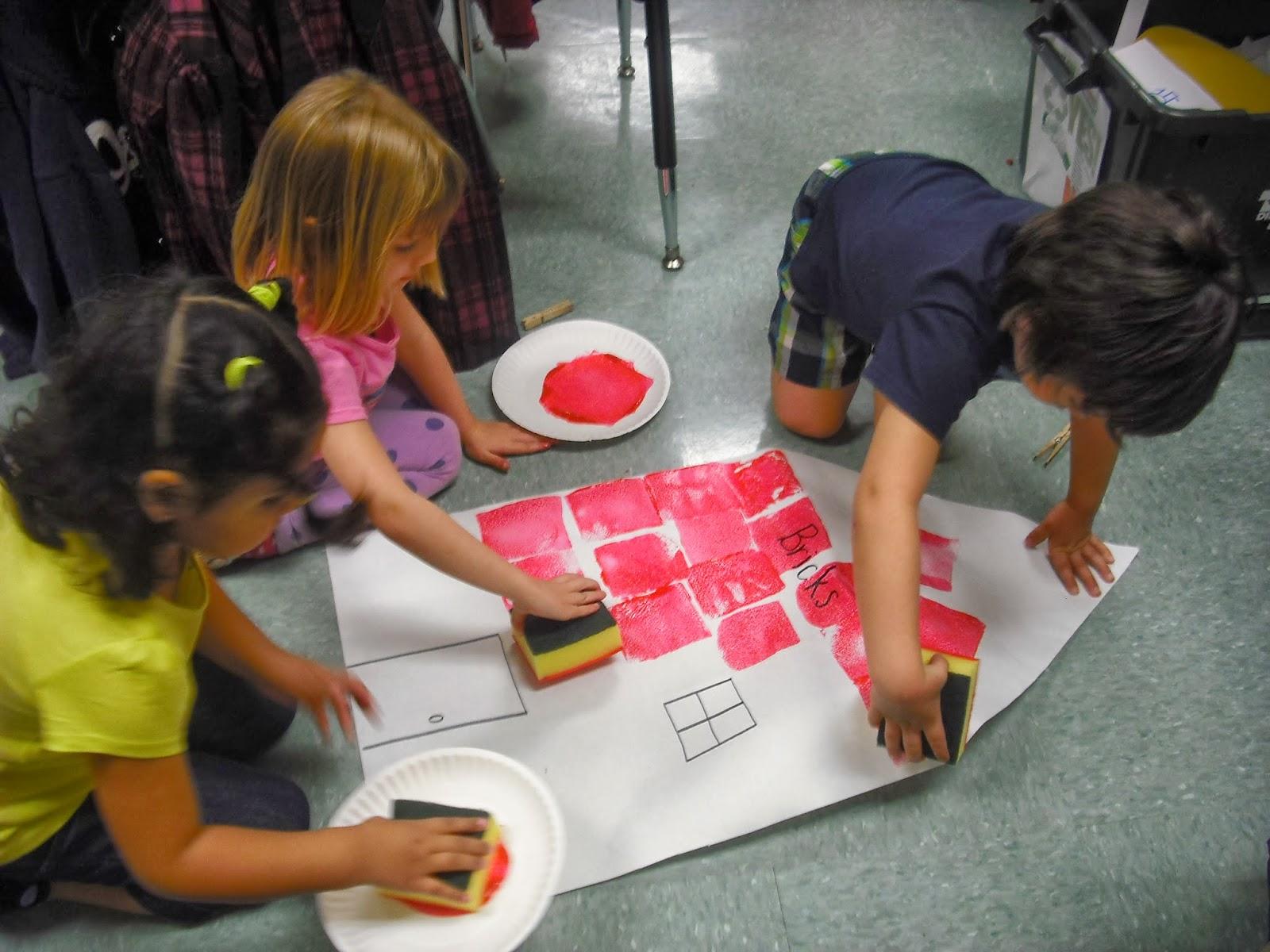 Sprinkles To Kindergarten Three Little Pigs