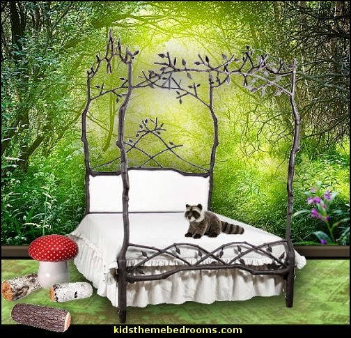 decorating theme bedrooms maries manor fairy forest. Black Bedroom Furniture Sets. Home Design Ideas