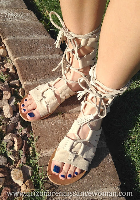Free People Mesa Verde Gladiator Sandals - Trunk Club Review - April 2016