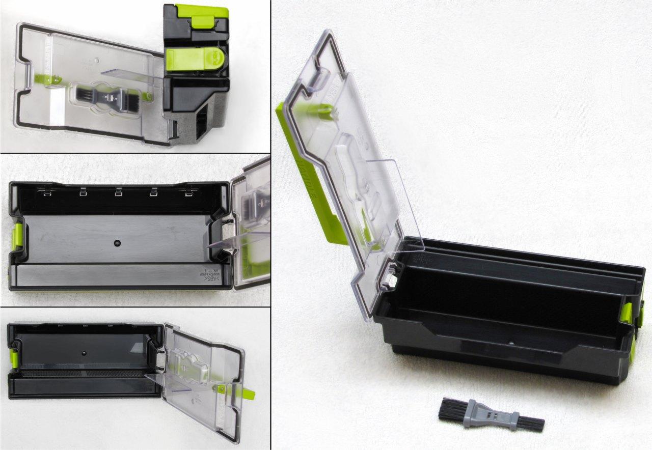 LG Hom-Bot Square 3.0, contenitore per la polvere