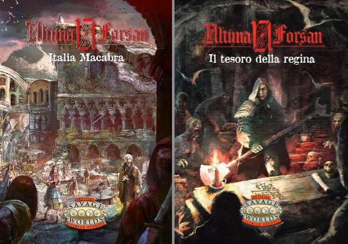 Ultima Forsan (Italia Macabra + Il tesoro della regina)