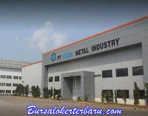 Lowongan Kerja Bagian Operator Produksi di PT Excel Metal Industry