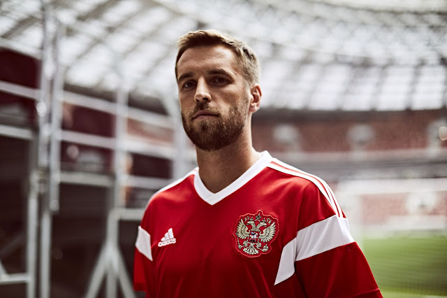 huge selection of 2c6ad 4729a adidas Football Reveals New Russian National Team Home Kit ...