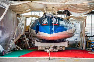 SMA en chantier à Port la Foret