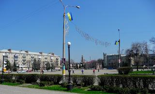 Павлоград. Соборна площа