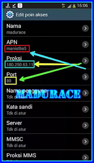 Setting Proxy Internet Gratis Telkomsel Polosan