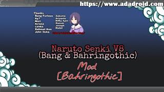 Naruto Senki Bang & Bahringothic v8 Apk