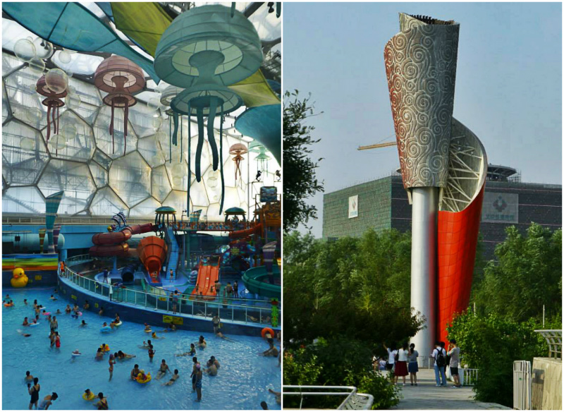 villaggio olimpico pechino