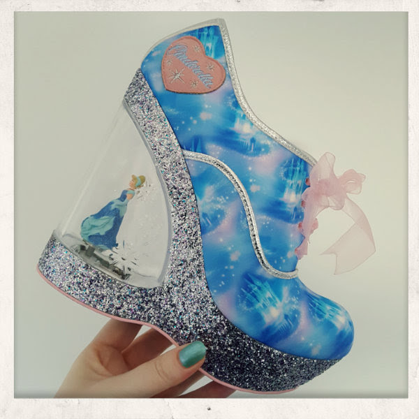 irregular choice cinderella call me cinders shoe