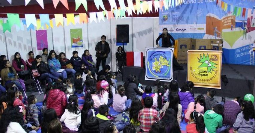 FIL LIMA 2017: Niños podrán disfrutar de libros, teatrín y actividades infantiles - www.fillima.com.pe