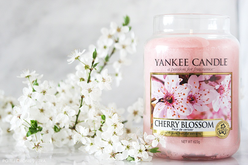 świeca zapachowa yankee candle cherry blossom