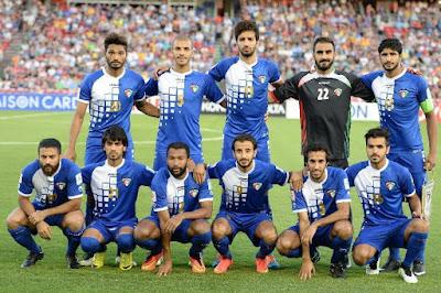La selección de Futbol de Kuwait fue descalificada de las eliminatorias Asia Rusia 2018