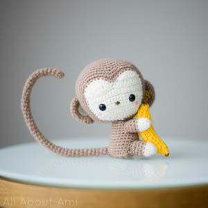 Free Amigurumi Patterns Octopus : 2000 Free Amigurumi Patterns: Monkey crochet pattern (very ...
